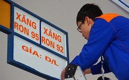 Giá xăng tăng thêm gần 800 đồng/lít từ 15h chiều nay 12/3
