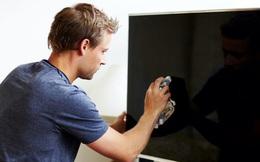 Mẹo làm sạch màn hình TV đơn giản và an toàn, mà vẫn giữ cho hình ảnh luôn rõ nét