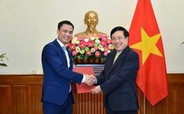 Ông Đặng Hoàng Giang giữ chức Thứ trưởng Bộ Ngoại giao