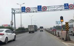 Hạ tốc độ phương tiện trên cầu Thanh Trì xuống 60km/h