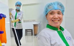 """Câu chuyện về nữ lao công bệnh viện trả lại số tiền lớn cho người đánh mất: """"60 triệu không làm thay đổi cuộc đời tôi"""""""