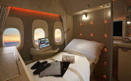 Hơn cả chiếc vé hạng nhất, đây là những chiếc giường đắt đỏ và thoải mái nhất trên bầu trời: Giá vé lên tới hàng tỷ đồng