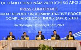 """APCI 2020: Nhóm thủ tục đầu tư đi """"thụt lùi"""" cho thấy cải cách cần bền bỉ"""