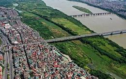 Đón quy hoạch sông Hồng: Giá đất bãi 'dựng đứng'