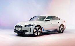 BMW tung sedan chạy điện i4: Một lần sạc chạy được gần 500km, có khả năng tăng tốc từ 0 - 100km/h chỉ trong 4 giây