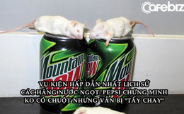 Chuột chết trong chai nước và bài học xử lý khủng hoảng nhớ đời của Pepsi: Thắng kiện ngoạn mục nhưng bị khách hàng quay lưng vì 'viên đạn bạc'
