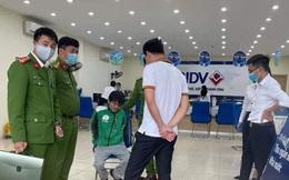 Khởi tố đối tượng cướp ngân hàng ở huyện Phúc Thọ