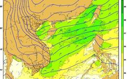 Đợt không khí lạnh mạnh tràn về, cuối tuần miền Bắc mưa rét