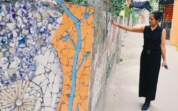 """Người biến đồ phế thải thành tác phẩm nghệ thuật trên con đường làng ở Hà Nội: """"Lúc đầu, họ bảo chúng tôi bị điên"""""""
