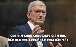 Sóng gió ập đến với Apple: Tim Cook cùng hàng loạt lãnh đạo cấp cao bị tòa triệu tập
