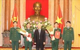 574 sĩ quan Quân đội, Công an được thăng quân hàm cấp tướng