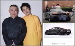 """""""Phú nhị đại"""" Trung Quốc: Đẹp trai như tài tử, lái siêu xe McLaren 720S đi làm nhưng vẫn ở nhà thuê, tiết kiệm tới mức bị chê là """"đệ nhất keo kiệt"""""""