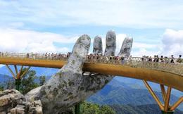 HOT: Cầu Vàng Đà Nẵng được báo Anh bình chọn là kỳ quan thế giới mới, nằm đầu tiên trong danh sách