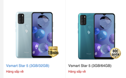 Lộ diện điện thoại Vsmart Star 5 sắp lên kệ