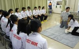 Tổ chức thi tuyển lao động sang Nhật làm việc với lương 'khủng'