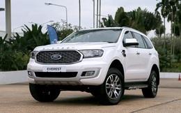 Ford Everest bản 2021 giảm giá gần 100 triệu đồng
