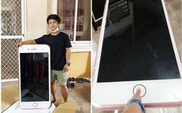"""Đặt mua iPhone 7 trên Lazada, chàng trai nhận về chiếc """"iPhone khổng lồ"""""""