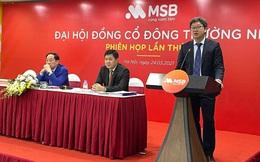 ĐHĐCĐ MSB: Lãnh đạo ngân hàng khẳng định không có chuyện PGBank sáp nhập vào MSB