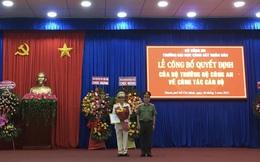Thiếu tướng Trần Thành Hưng làm hiệu trưởng ĐH Cảnh sát Nhân dân