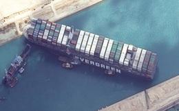 Nỗ lực giải cứu tàu mắc cạn trên Kênh đào Suez lại thất bại, tác động kinh tế bắt đầu lan rộng