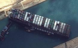 """Chủ siêu tàu mắc kẹt ở kênh đào Suez chờ """"trời giúp"""" hôm nay"""