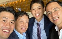 Tỷ phú Johnathan Hạnh Nguyễn xuất hiện với 3 thiếu gia, không còn tấm ảnh nào giàu sang hơn thế!