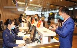 Hình ảnh sân bay Vân Đồn ngày đầu gỡ phong tỏa