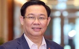 100% số đại biểu có mặt bầu ông Vương Đình Huệ làm Chủ tịch Quốc hội