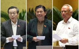 Chủ tịch Quốc hội Vương Đình Huệ chúc mừng 3 Phó Chủ tịch vừa được Quốc hội miễn nhiệm