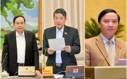 Quốc hội bầu đồng thời 3 Phó Chủ tịch Quốc hội mới