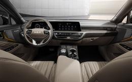 Kia K8 lần đầu khoe nội thất: Đẹp như xe sang, dùng tới 14 loa Meridian