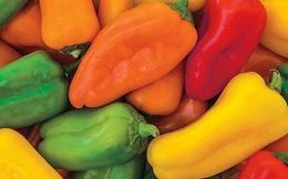Ớt chuông vừa là trái cây vừa là rau quả dùng nhiều trong nấu nướng, nếu thường xuyên ăn cơ thể sẽ nhận được 8 lợi ích