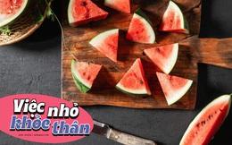 Cơ thể ngay lập tức nhận được 6 điều tuyệt diệu này sau khi bạn ăn dưa hấu