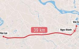 Kiến nghị thuê tư vấn thẩm tra để đẩy nhanh tiến độ dự án metro số 5 Văn Cao - Hòa Lạc