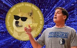 Tỷ phú Mark Cuban: 'Đầu tư Dogecoin tốt hơn nhiều so với việc mua vé số!'