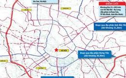 Đường Vành đai 4 hâm nóng thị trường bất động sản 3 tỉnh