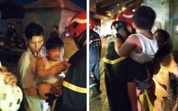 Giải cứu 24 người mắc kẹt trong đám cháy chung cư ở TPHCM