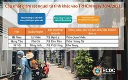 NÓNG: Những người ở các địa phương nào phải cách ly khi đến TP HCM ?