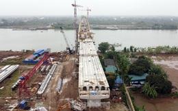Cầu trăm tỷ nối Hải Phòng - Hải Dương nguy cơ chậm tiến độ