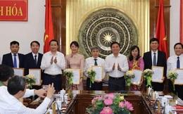 Thanh Hoá công bố nhiều quyết định về công tác cán bộ