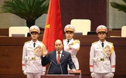 CHÙM ẢNH: Đồng chí Nguyễn Xuân Phúc nhậm chức Chủ tịch nước