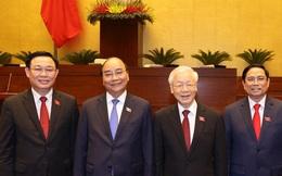 3 nhân sự lãnh đạo chủ chốt vừa được Quốc hội bầu