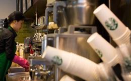 Starbucks sắp bỏ loại cốc giấy dùng một lần