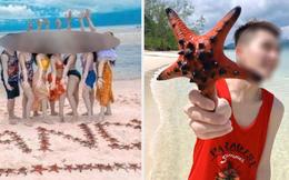 """Từ vụ sao biển chết khô ở Phú Quốc: Dân mạng tiếp tục đào thêm hàng loạt hình sống ảo đầy """"tội lỗi"""" của du khách"""