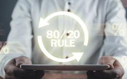 """""""Nguyên tắc 80/20"""" không phải lúc nào cũng đúng, lùi một bước bạn sẽ sững sờ với kết quả đạt được: Hóa ra nếu không phù hợp thì mọi thứ đều vô nghĩa!"""