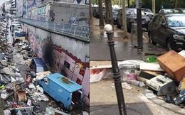 """Những hình ảnh gây sốc cho thấy thành phố Paris hoa lệ """"ngập trong rác"""" khiến cộng đồng mạng thất vọng tràn trề, chuyện gì đang xảy ra?"""