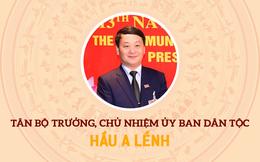 Chân dung tân Bộ trưởng, Chủ nhiệm Ủy ban Dân tộc Hầu A Lềnh
