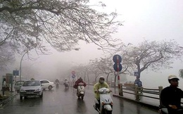Miền Bắc đón không khí lạnh, Hà Nội mưa dông