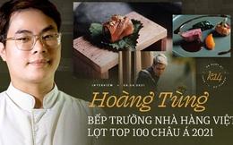 Bếp trưởng nhà hàng Hà Nội lọt top 100 châu Á: Bỏ sự nghiệp nước ngoài, về nước với công thức thành công chỉ sau 2 năm