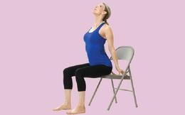 """Động tác đơn giản, là """"công tắc"""" để tăng sinh khí mạnh mẽ tức thì, đẩy lùi chóng mặt, đau lưng, mệt mỏi"""